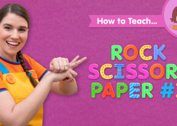 How To Teach Rock Scissors Paper #1