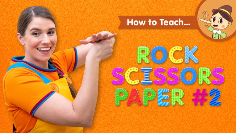 How To Teach Rock Scissors Paper #2