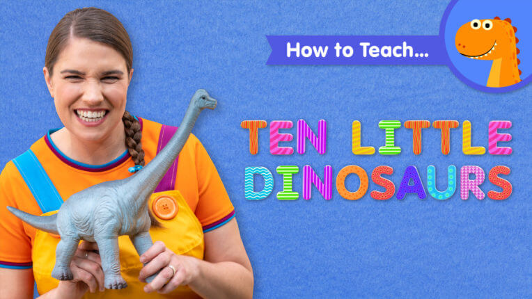 How To Teach Ten Little Dinosaurs