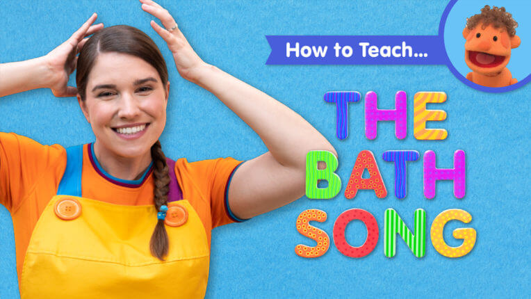 How To Teach The Bath Song