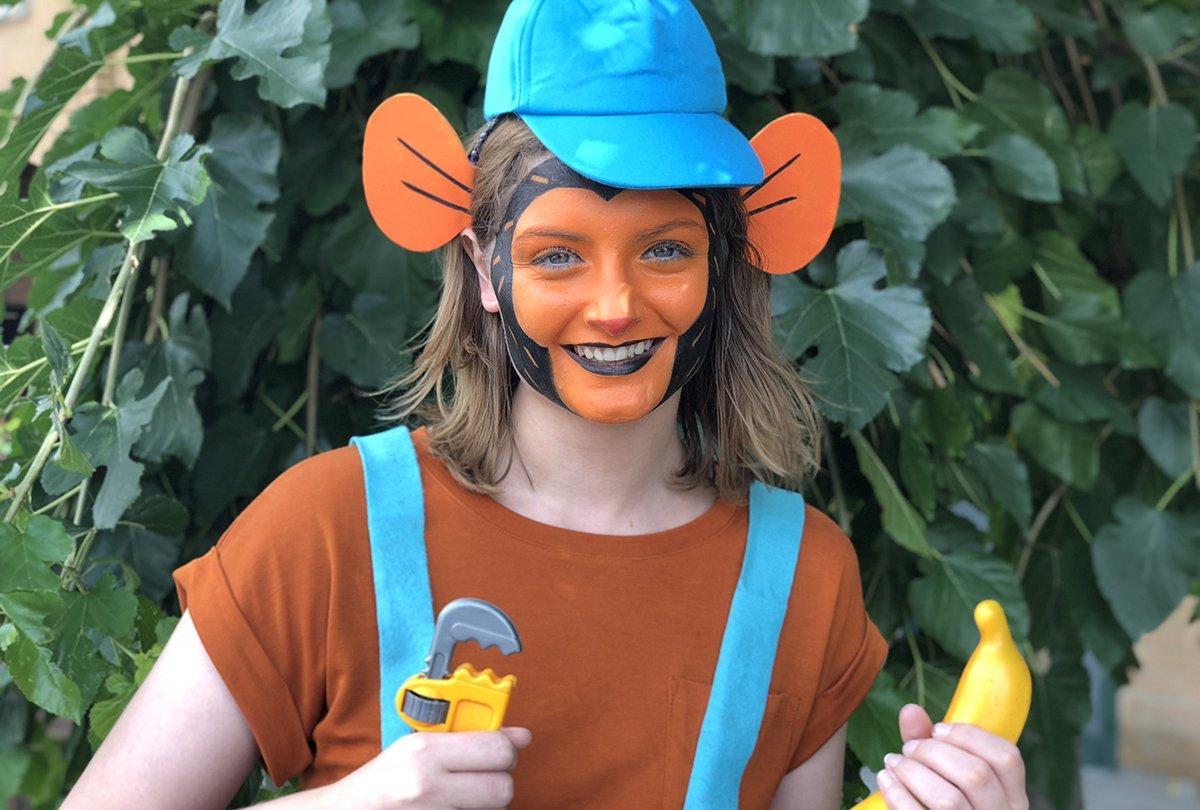 Mr. Monkey Face Paint