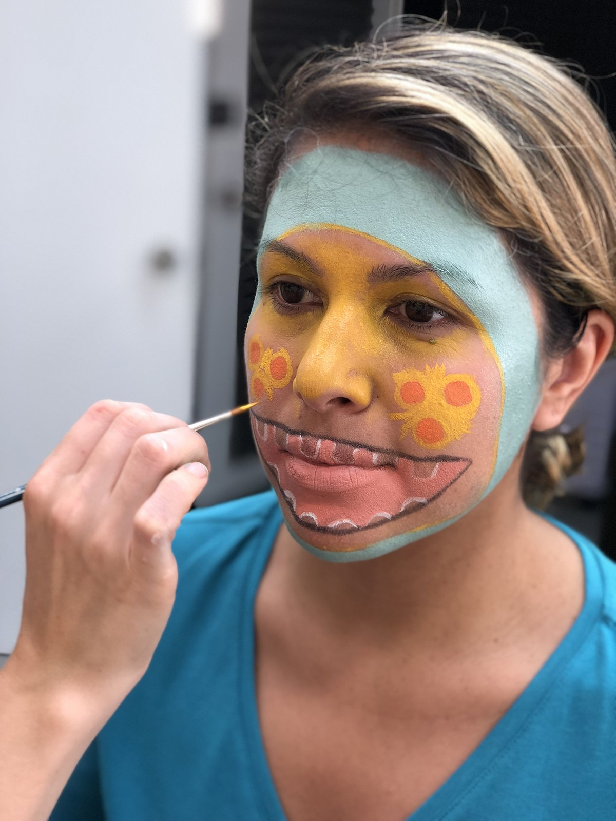 Super Simple Monster Makeup