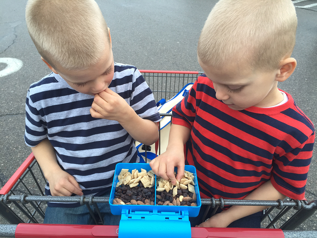 Taking Kids Grocery Shopping