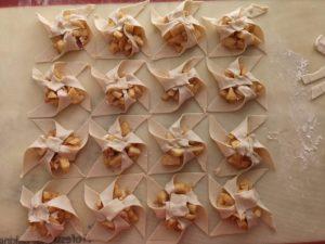 Easy Caramel Apple Mascarpone Pinwheels