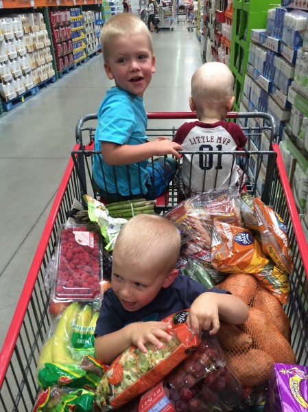 Taking Your Kids to the Grocery Store