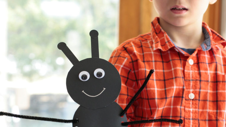 Ant Finger Puppets