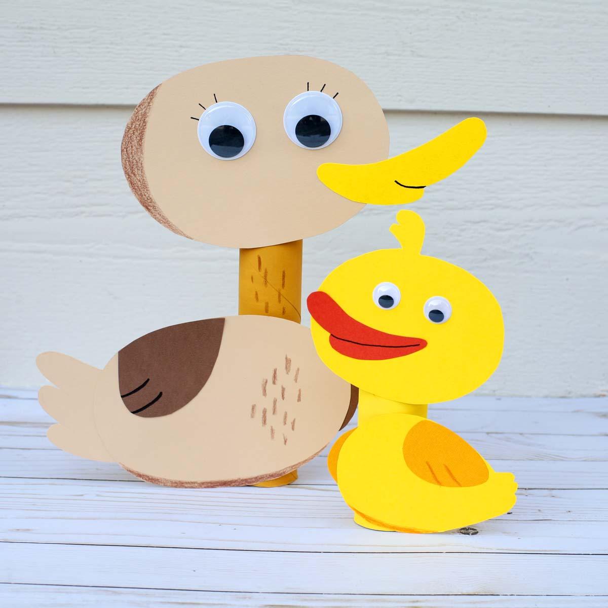 Five Little Ducks Craft