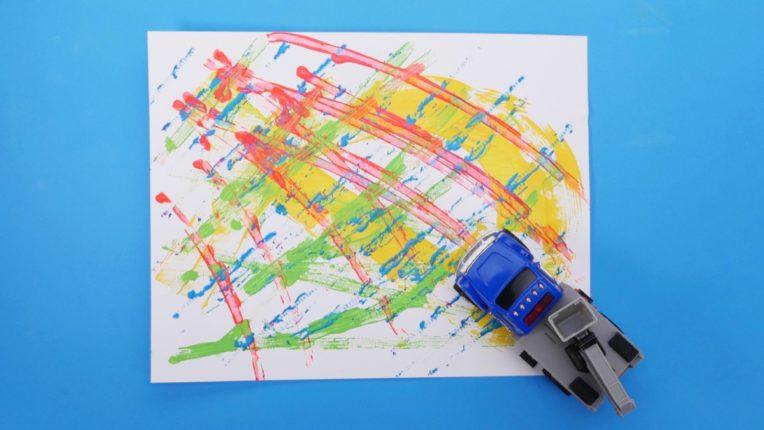Car Tracks Craft
