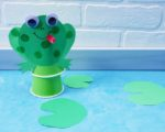 Jumping Frog Craft