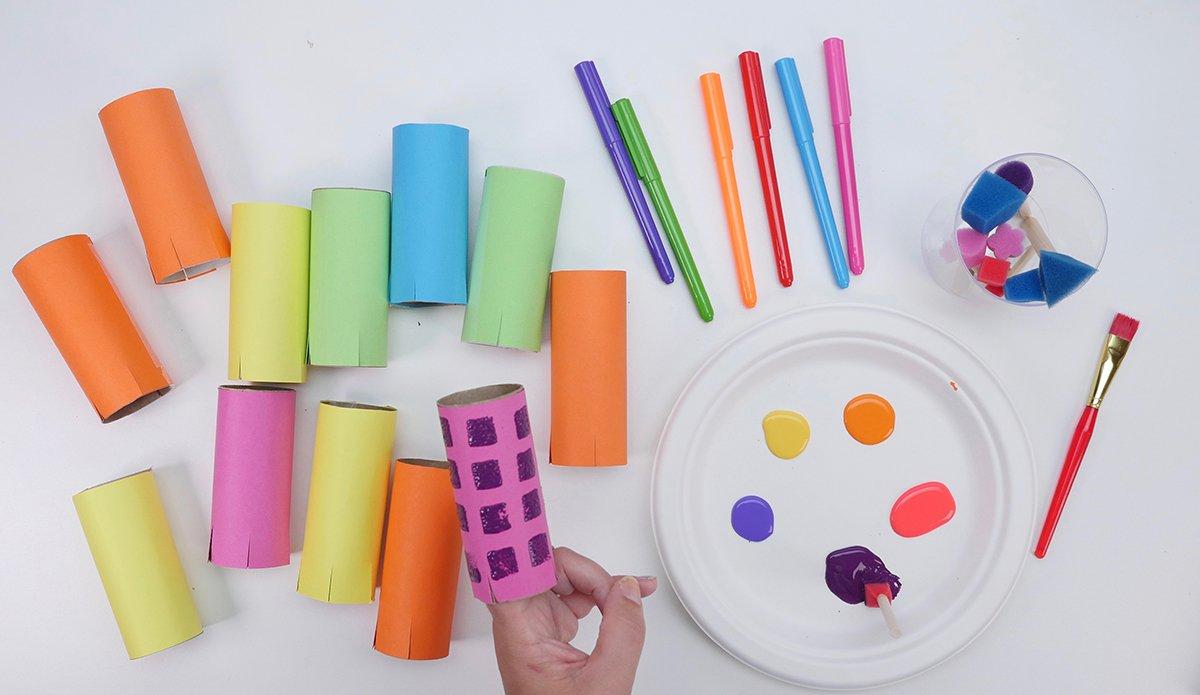 Decorating Recycled Blocks