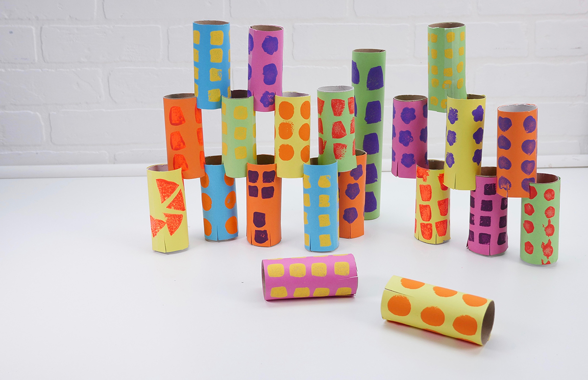 Recycled Cardboard Blocks