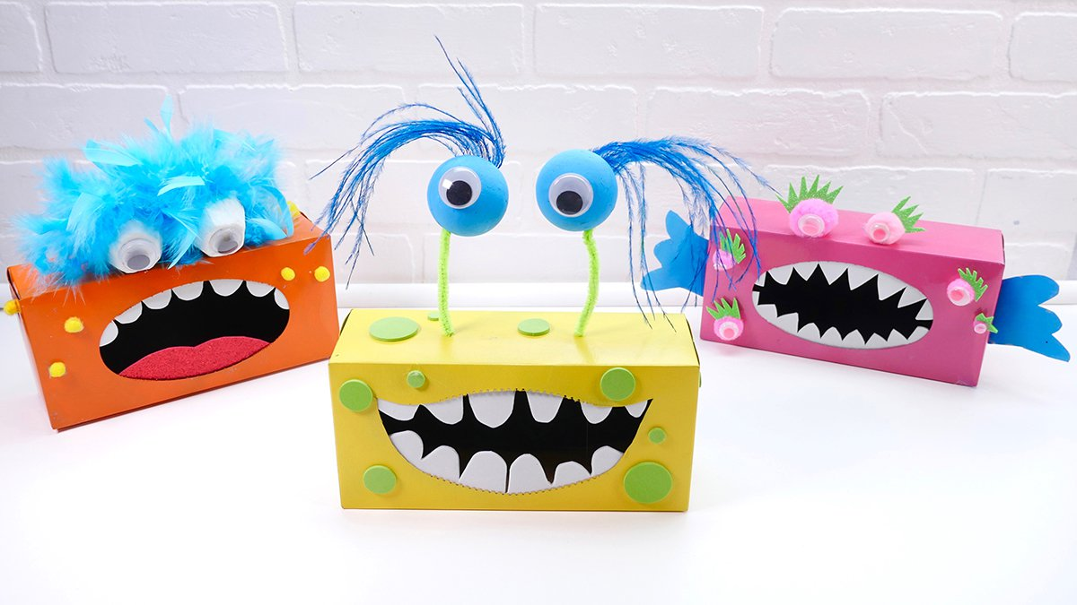 Tissue Box Monsters - Super Simple
