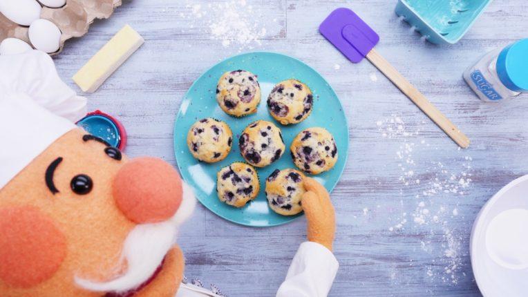 Muffin Tannenbaum.Recipes Super Simple