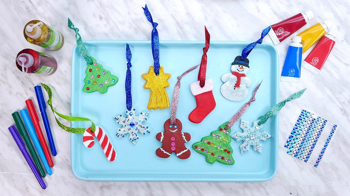 Salt Dough Christmas Ornaments - Super Simple