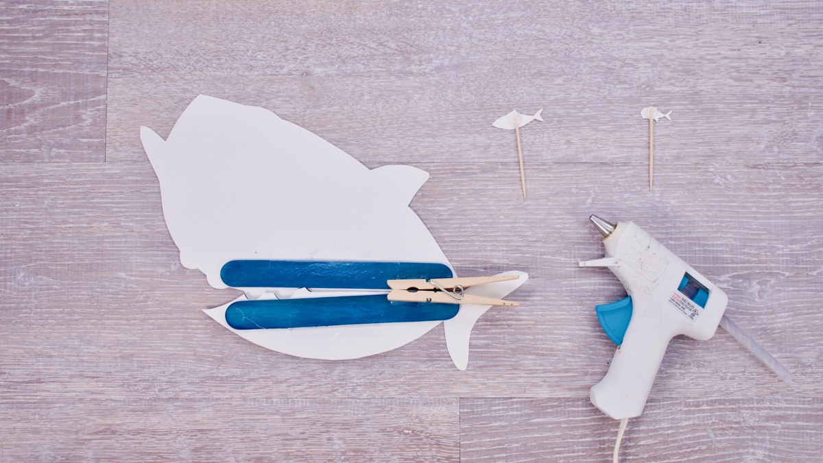 Big Fish, Little Fish! - Baby Shark Craft