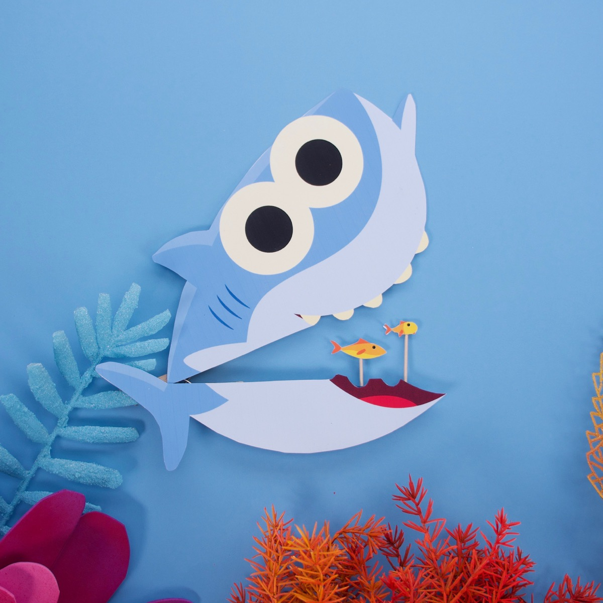 Big Fish Little Fish Baby Shark Craft Super Simple