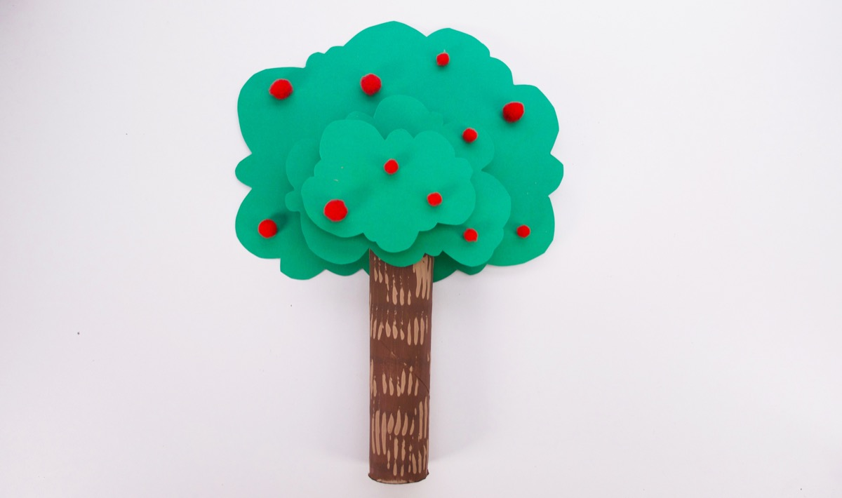 Stand Up Tree Craft