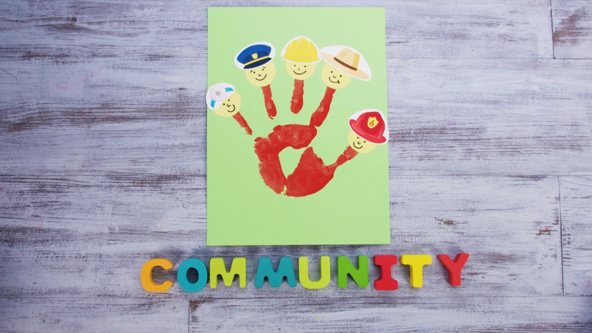 Giving Community Helpers A High Five