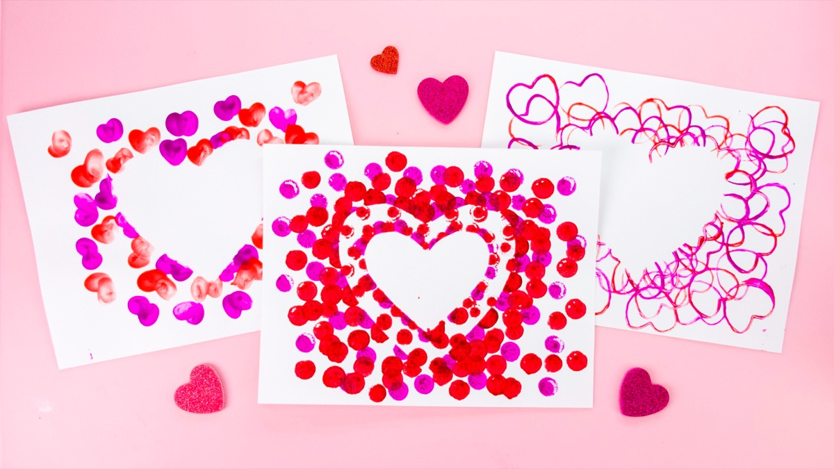 Valentine's Day Stamp Crafts & Activities!