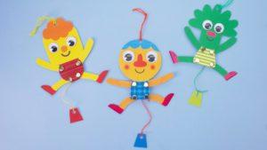 Noodle & Pals Dancing Paper Puppet Craft