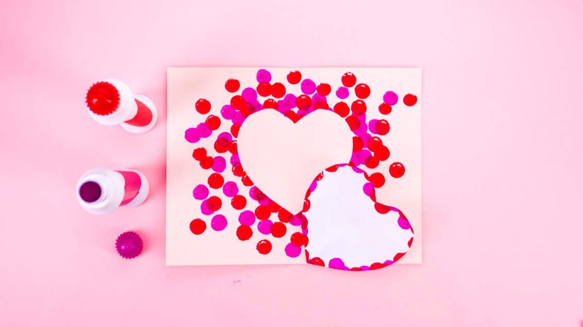 Valentine's Day 3D Card