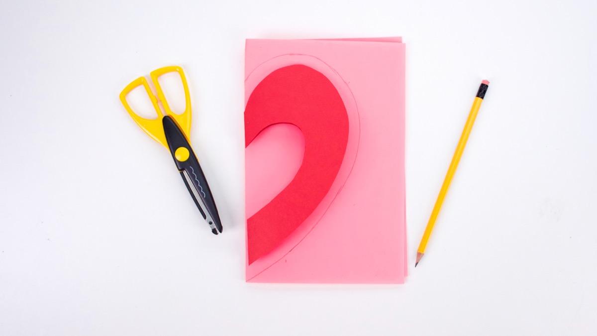 Valentine's Day Candy Card Craft