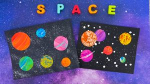 Painting Planets Craft