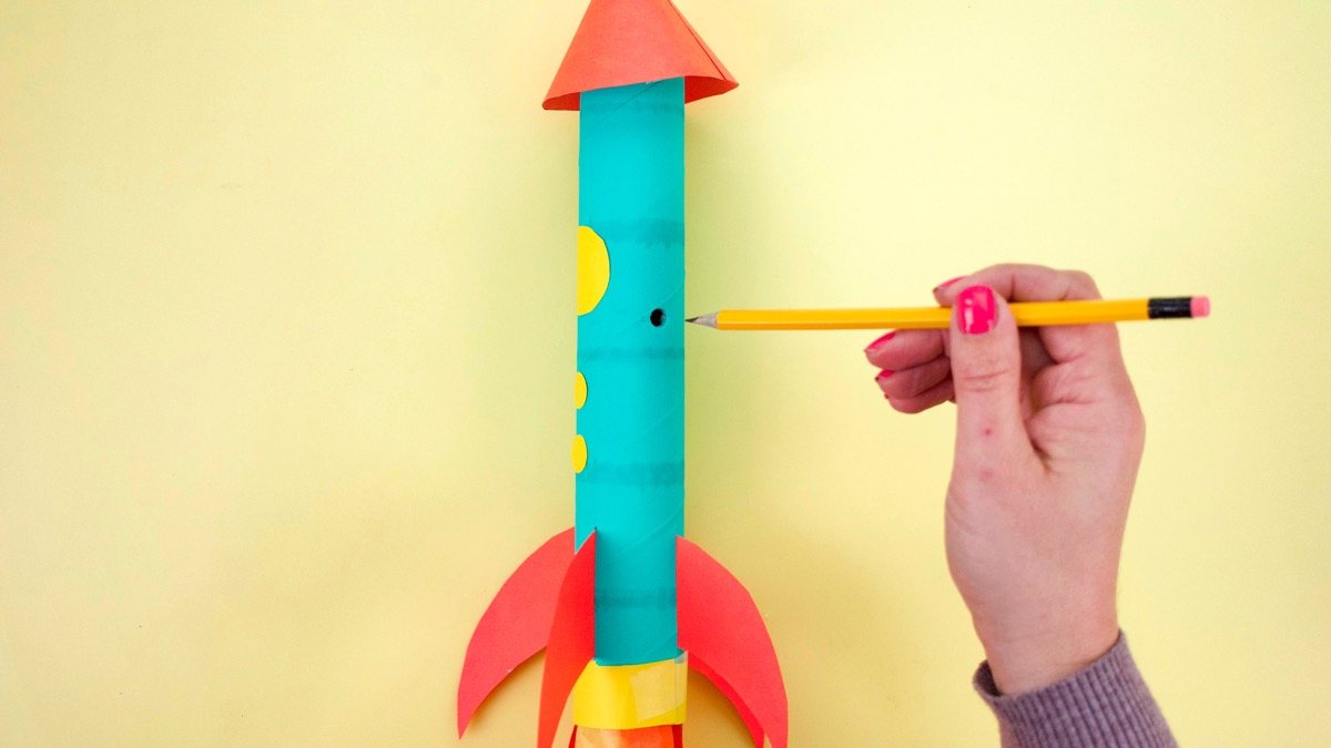 Flying Rocket Ship Craft