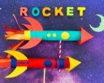 Flying Rocket Ship Craft