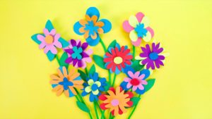 Paper Flowers Bouquet Craft