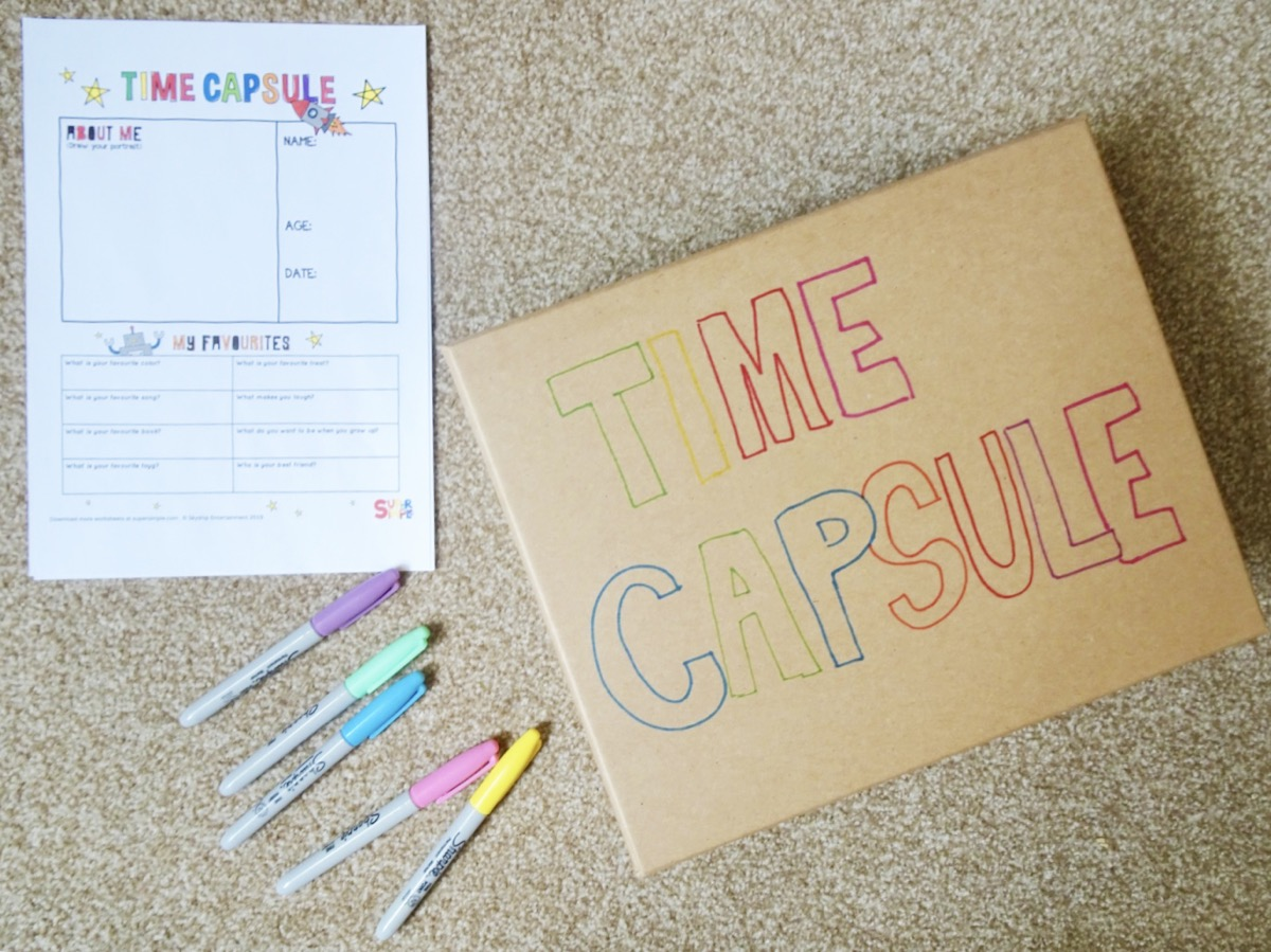 My Favourite Things Time Capsule