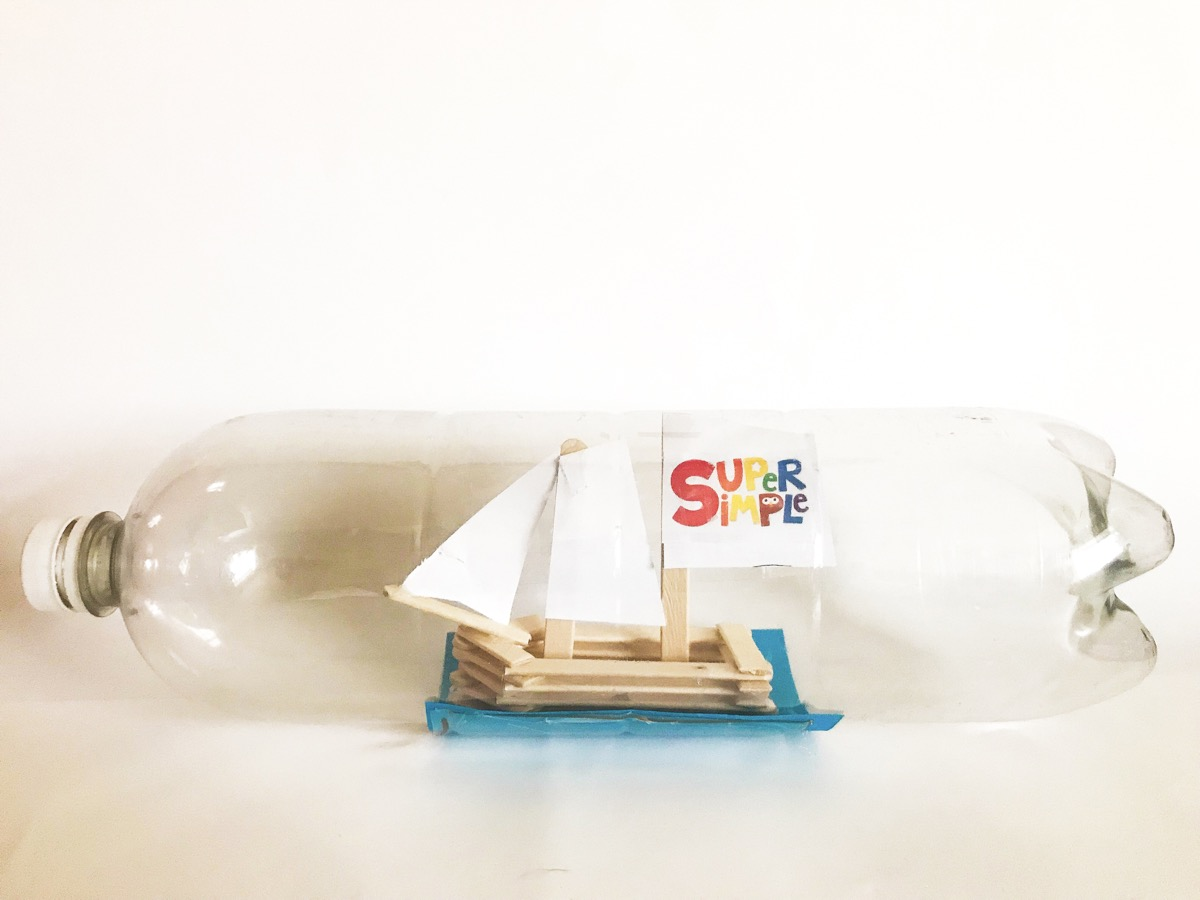 The history of the ship in a bottle