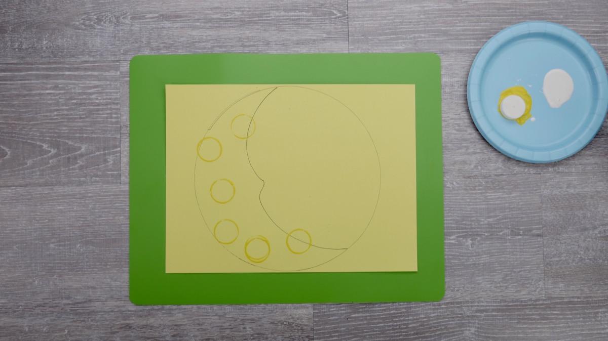 Sun & Moon Craft - Steps 2-3