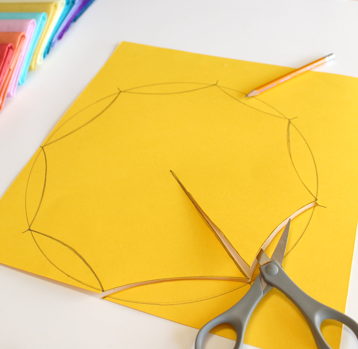 May Flower Umbrellas - Cut Out
