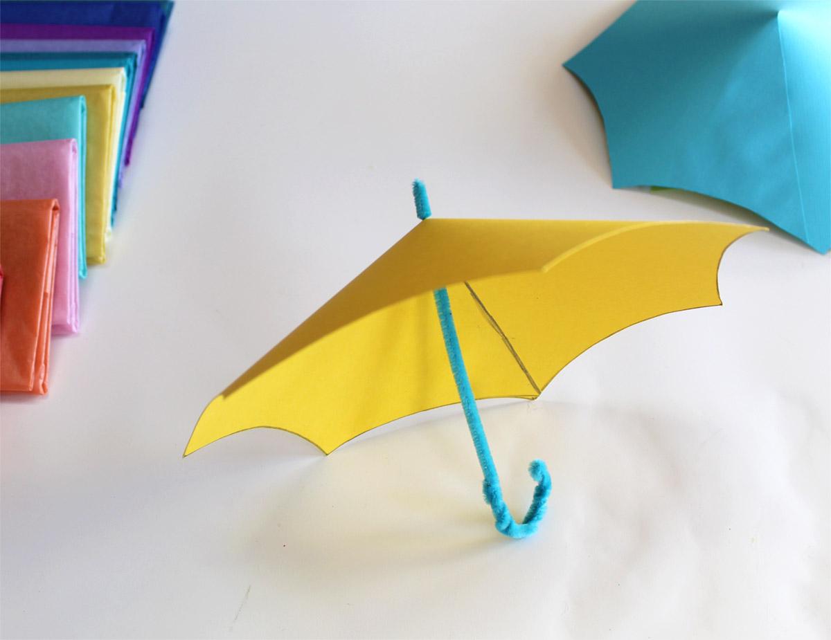 May Flower Umbrellas - Pipe Cleaner