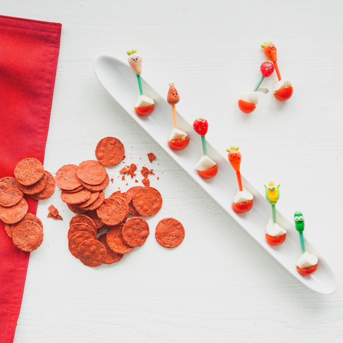 Valentine's Snacktivity Snacks