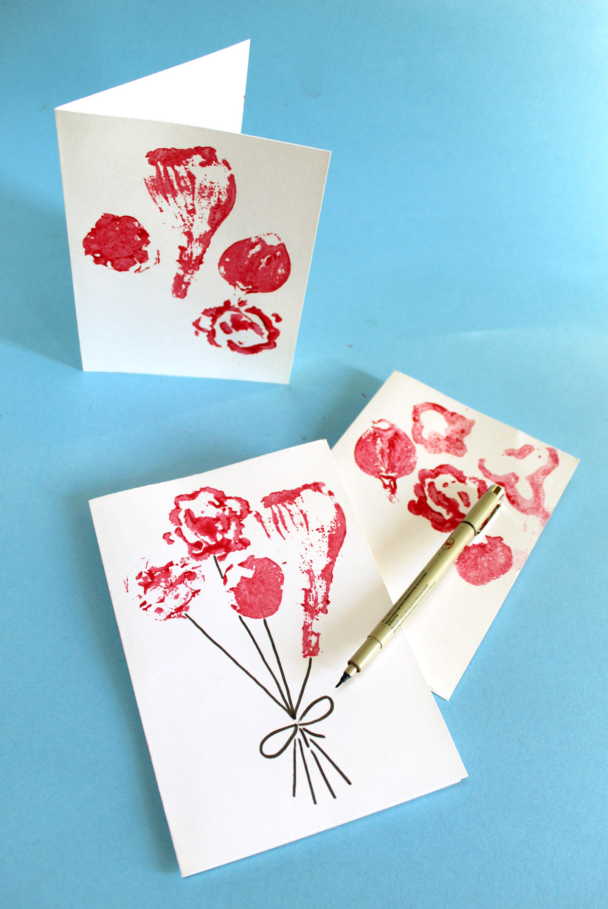 Draw Stems on Cards