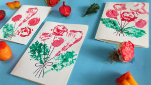 Vegetable Valentine Cards