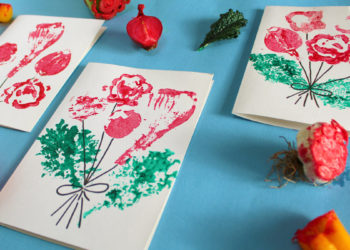 Vegetable Valentine Cards