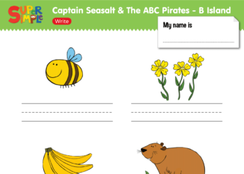 "Captain Seasalt And The ABC Pirates ""B"" - Write"