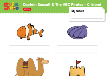 "Captain Seasalt And The ABC Pirates ""C"" - Write"
