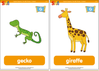 photograph about Printable Animal Flash Cards referred to as Flashcards - Tremendous Straightforward