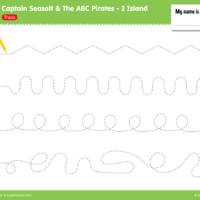 I Island Worksheet - Trace