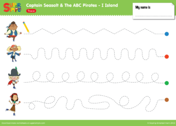 I Island Worksheet - Trace