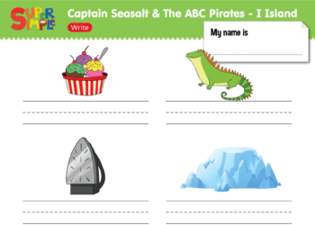 I Island Worksheet - Write