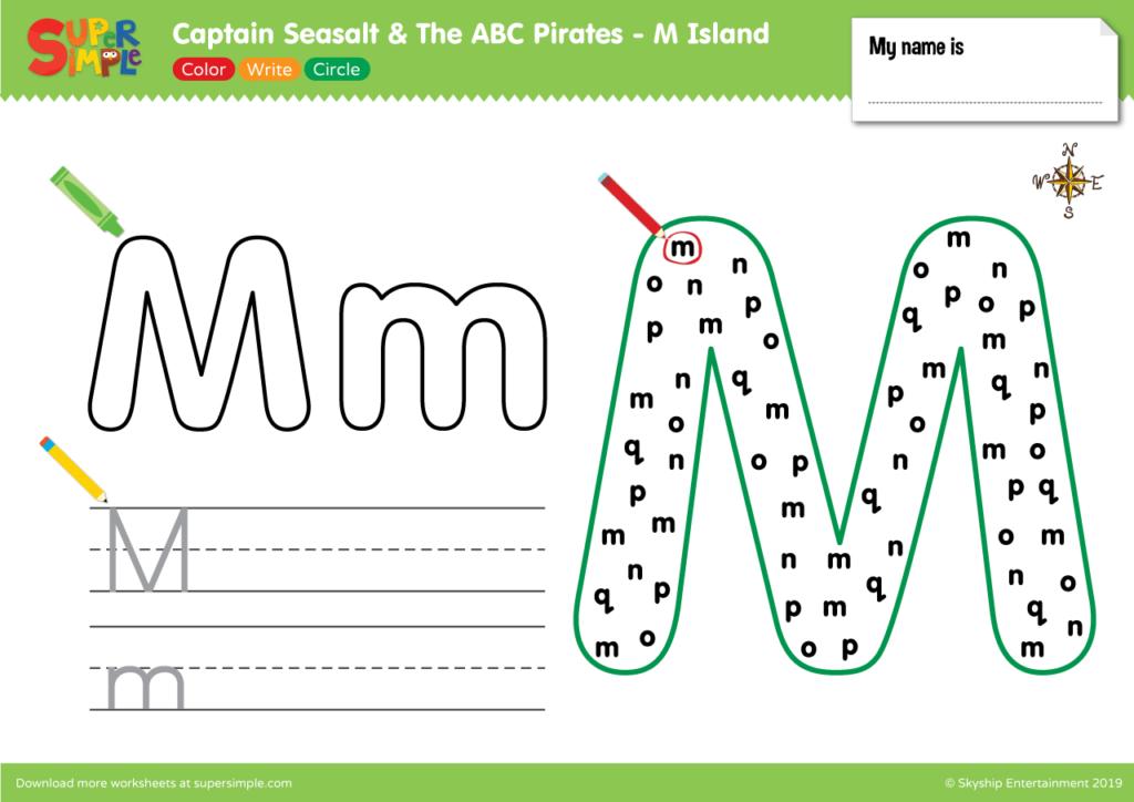 ABC Pirates M Island