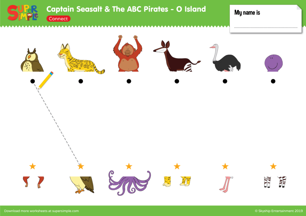 "Captain Seasalt And The ABC Pirates ""O"" - Connect"