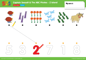 "Captain Seasalt And The ABC Pirates ""Z"" - Connect, Color"