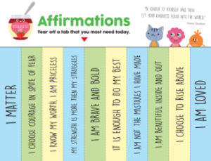 Spreadable Joy: Post-It Note Affirmations - Super Simple