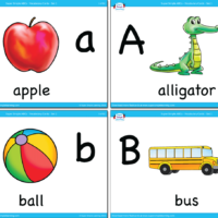 The Wheels On The Bus Flashcards - Super Simple